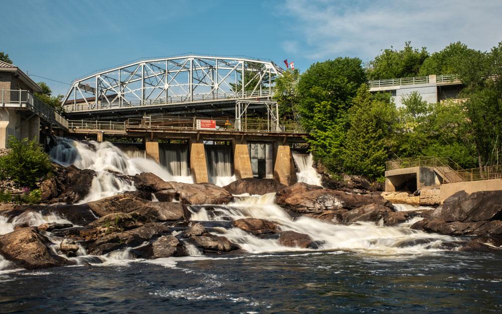 Bracebridge Ontario Falls