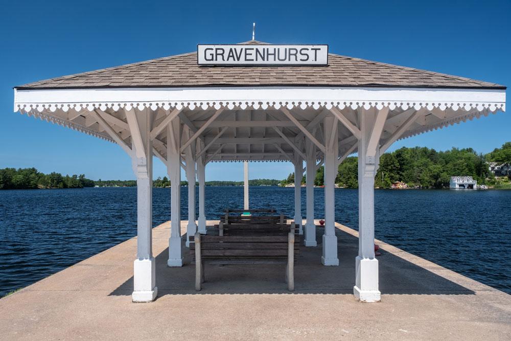 Gravenhurst Ontario Dock Wharf